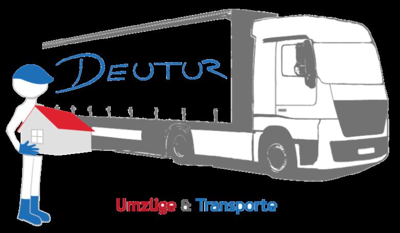 Logo der Deutur Transporte GmbH für Umzug und Tranport